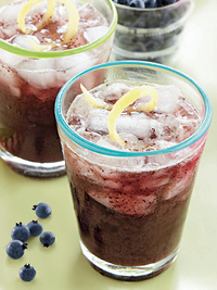 Wild Blueberry-Ginger Juice Picture