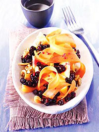 Carrot Salad with Wild Blueberries Picture