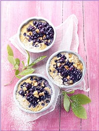 Wild Blueberry Clafoutis Picture