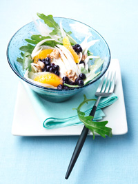 Fennel Salad with Wild Blueberries Picture