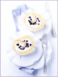 Wild Blueberry Jelly Roll Picture