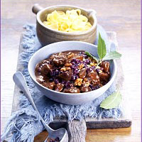 Rabbit Stew with Wild Blueberries Picture