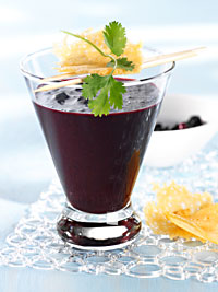 Wild Blueberry Tomato Shooter Picture