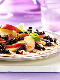 Spicy Tortilla with Wild Blueberries Picture
