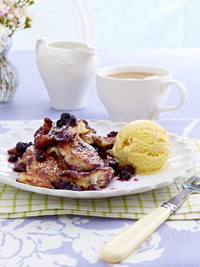 Viennese Pancakes with Wild Blueberries Picture