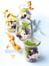 Waldorf Salad with Wild Blueberries Picture