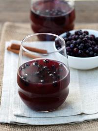 Spiced Wild Blueberry Cider