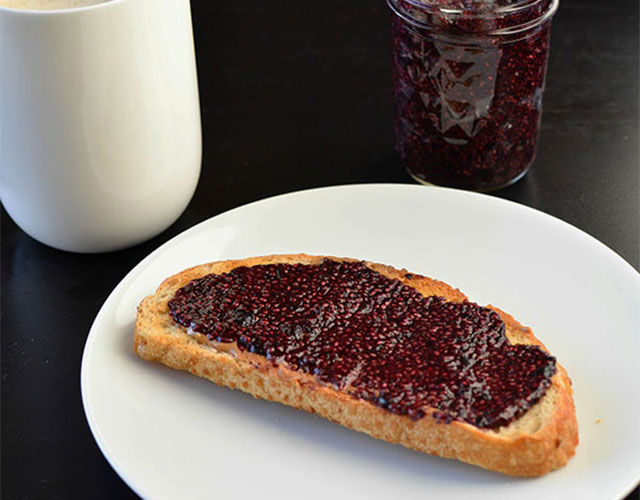 Wild Blueberry Chia Jam