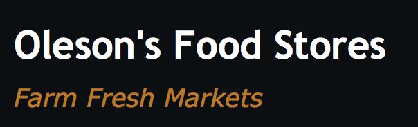 Oleson's Foods Logo