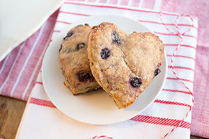 Lemon Wild Blueberry Scones Picture
