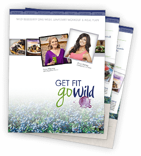Get Fit, Go Wild Meal & Workout Plan