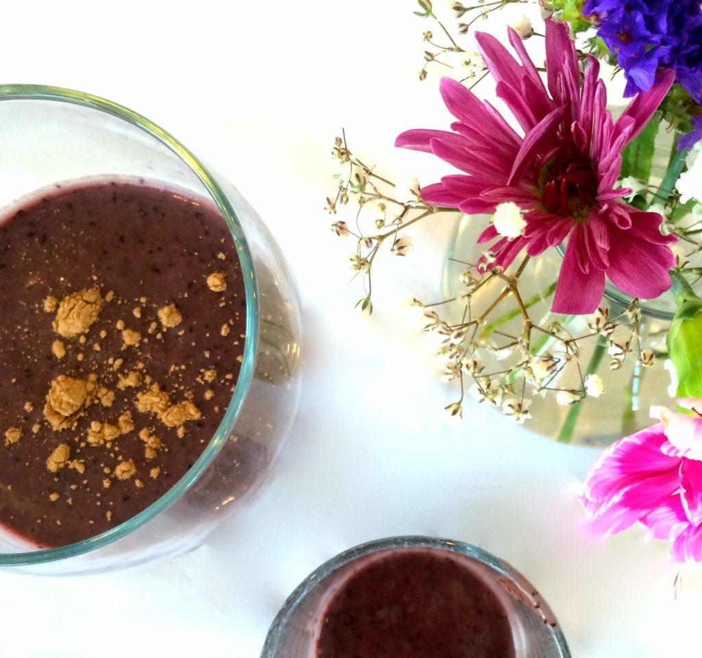 Wild Blueberry Cacao Smoothie - Alexis