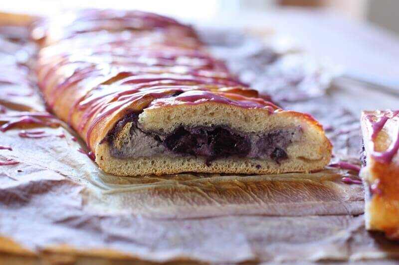Braided Breakfast Bread with Wild Blueberry Filling Picture