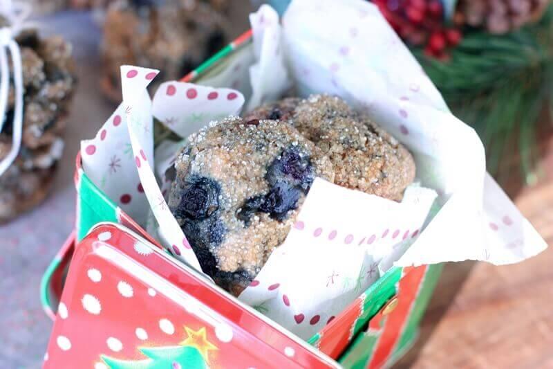 DIY Gift: Wild Blueberry Cookies