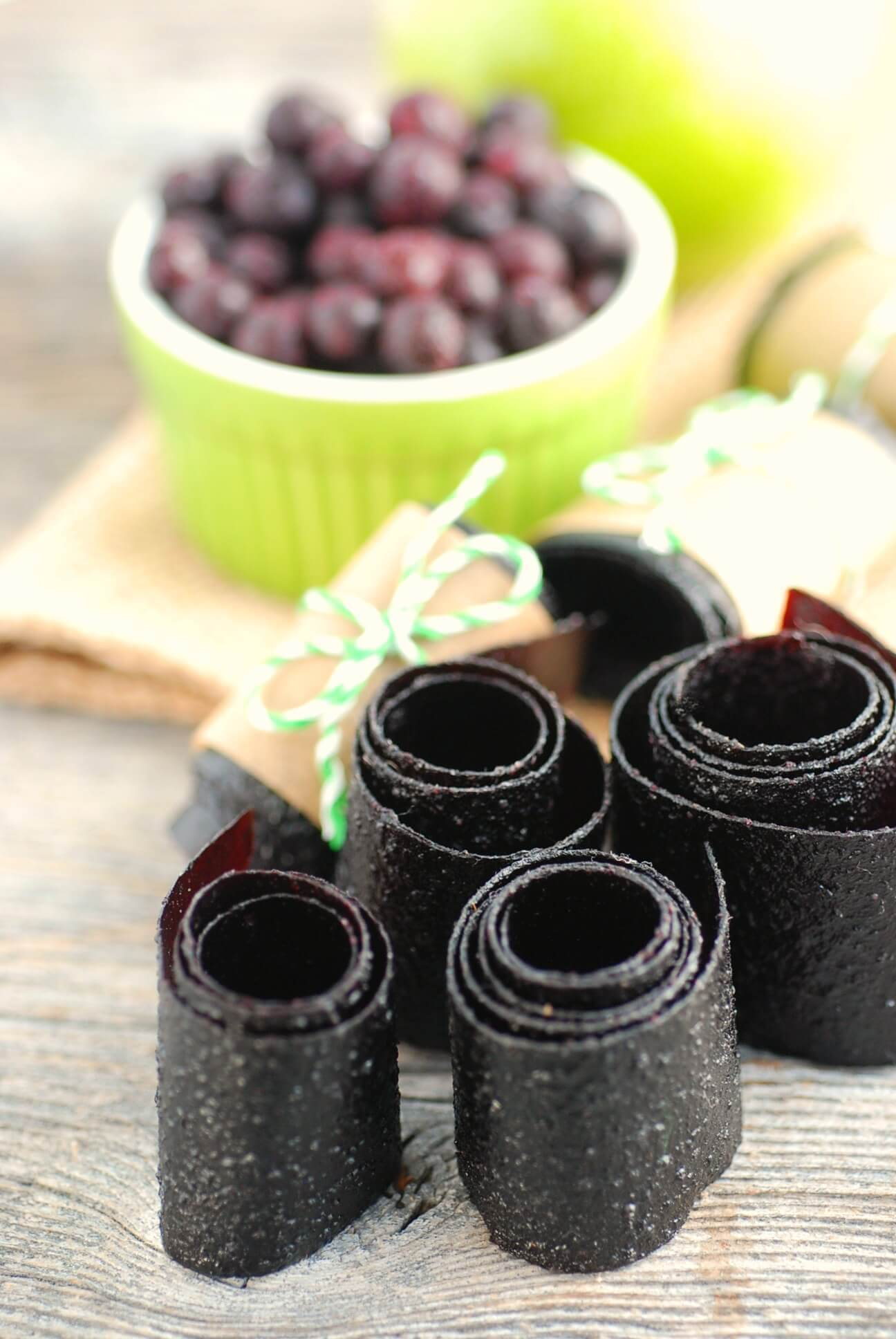 Wild Blueberry Fruit Leather Picture