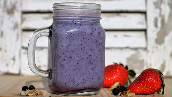 Wild Blueberry Meal Replacement Smoothie