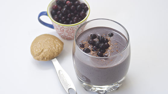Wild Blueberry Protein Power Smoothie