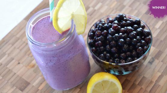 Wild Blueberry Spice Market Smoothie