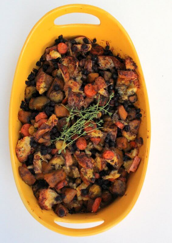 Wild Blueberry Sweet and Savory Stuffing Picture