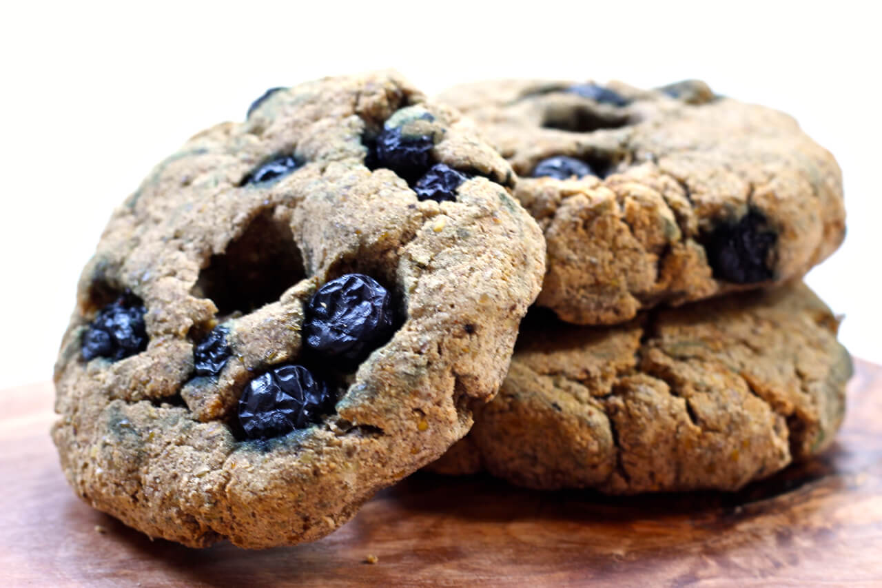 Paleo Wild Blueberry Bagels Picture