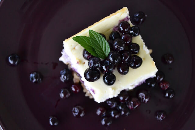 "Wild Blueberry High Protein ""Cheesecake"" Picture"