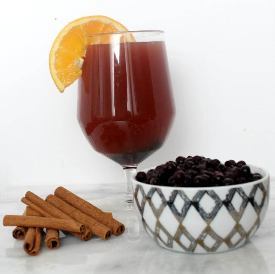 Wild Blueberry Hot Spiced Cider Picture