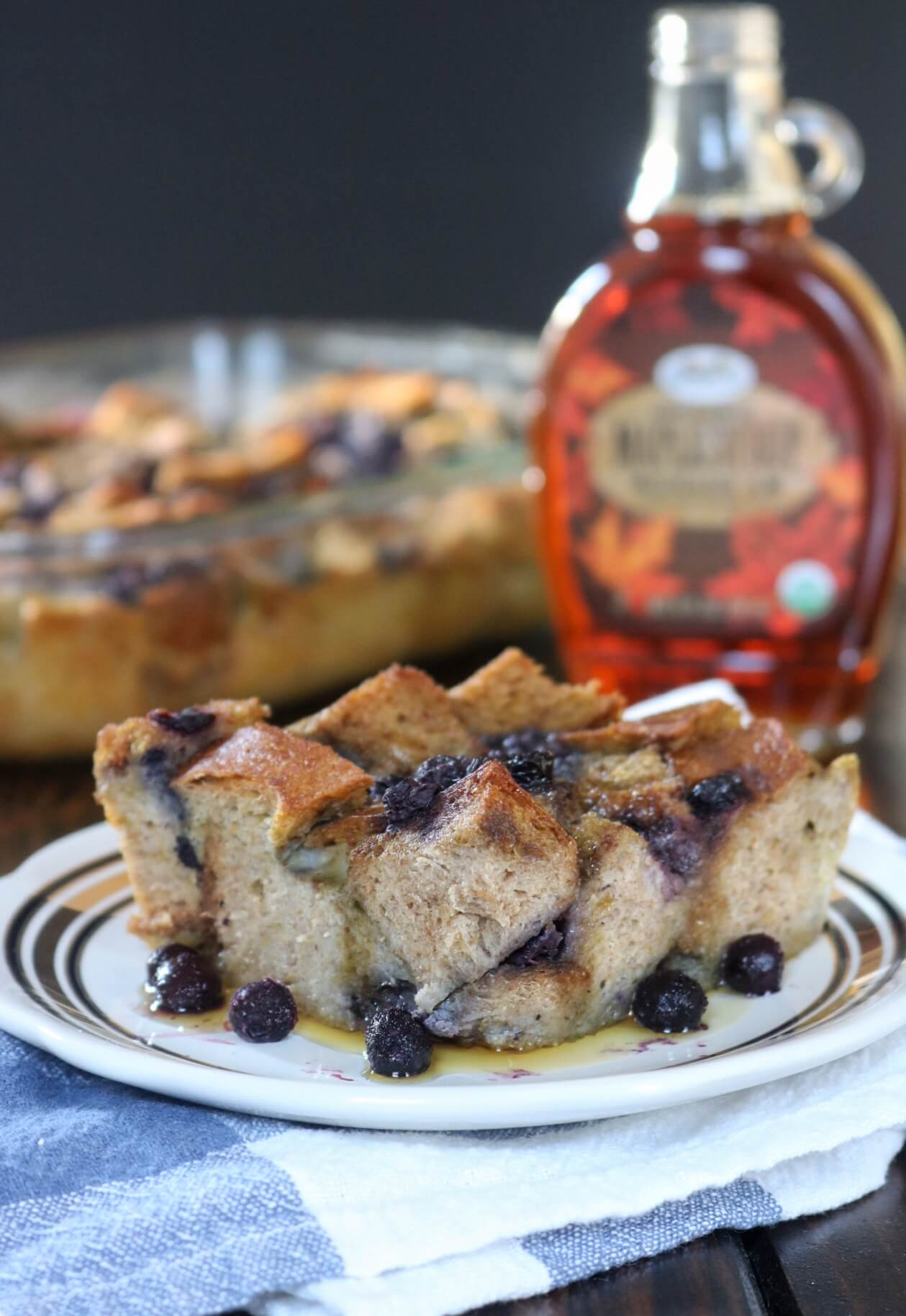 Wild Blueberry French Toast Bake Picture