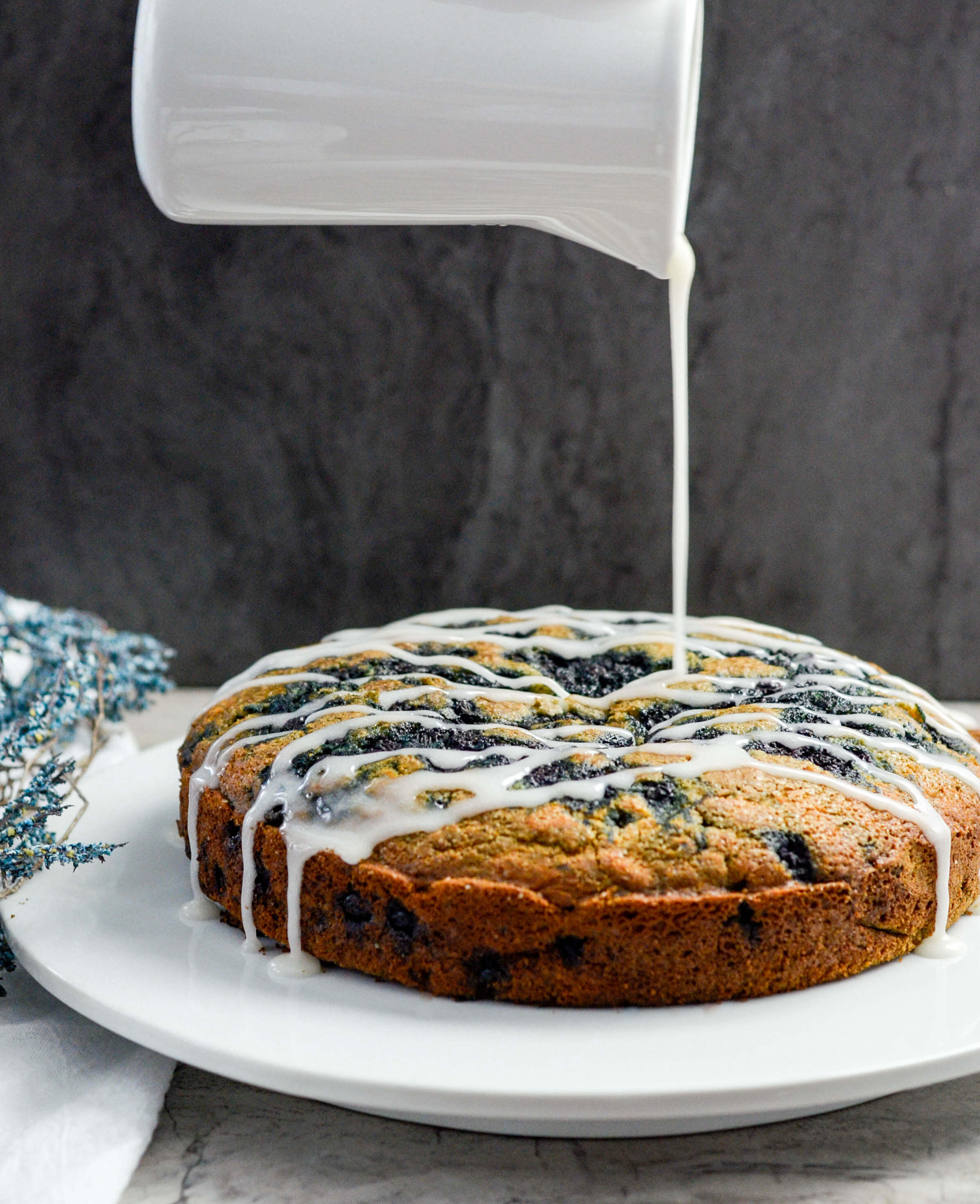 Dairy-free Wild Blueberry Coffee Cake Picture