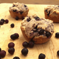 Wild Blueberry Corn Muffins Picture