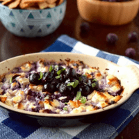 Baked Feta with a Wild Blueberry Compote Picture