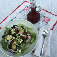 Wild Blueberry Holiday Salad with Wild Blueberry Vinaigrette Picture