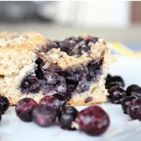 Wild Blueberry Cinnamon Coffee Cake Picture