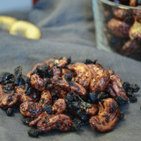 Wild Blueberry Coated Cashews Picture