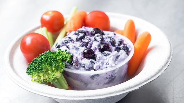 Wild Blueberry & Ricotta Vegetable Dip