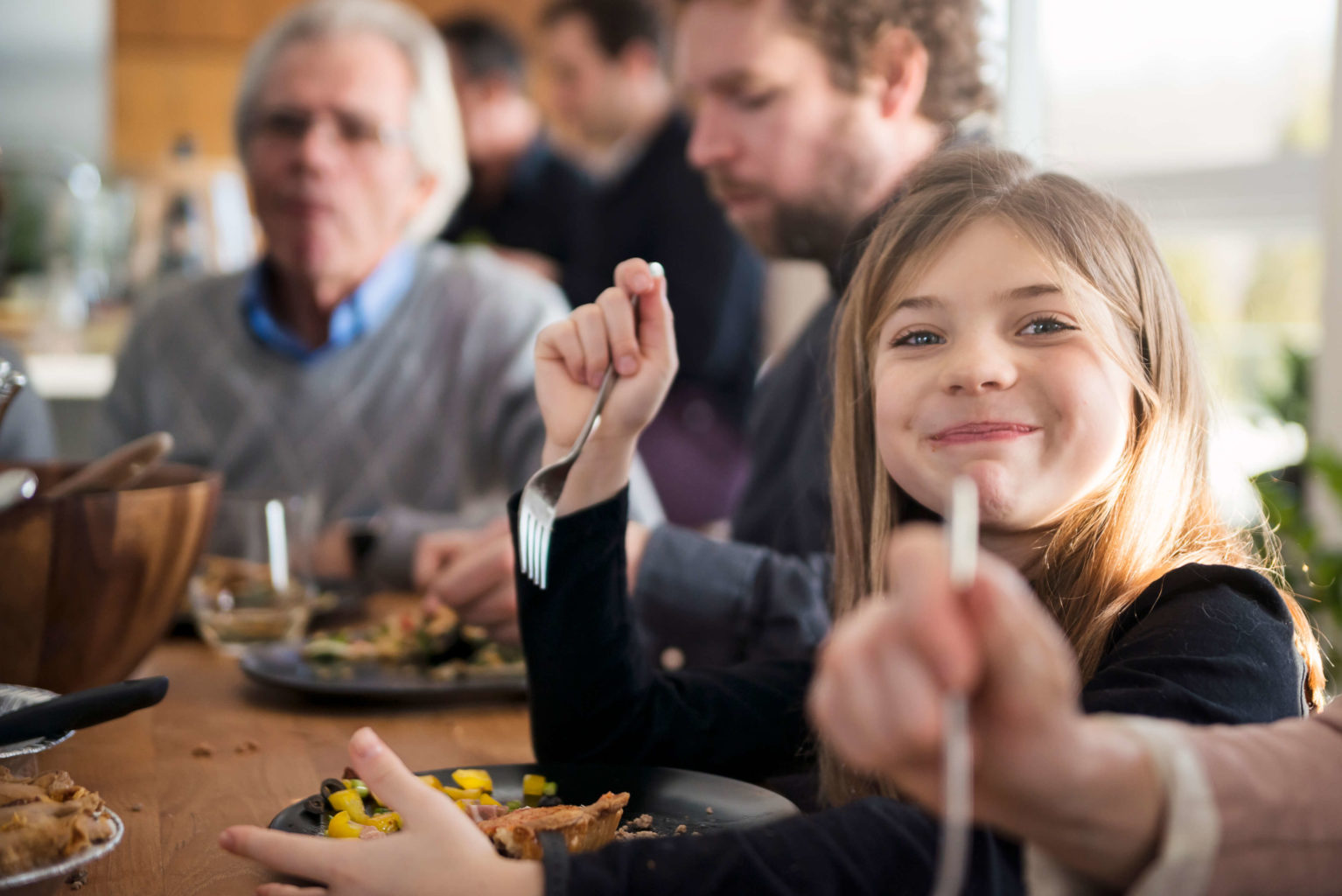 Children should eat the same as adults