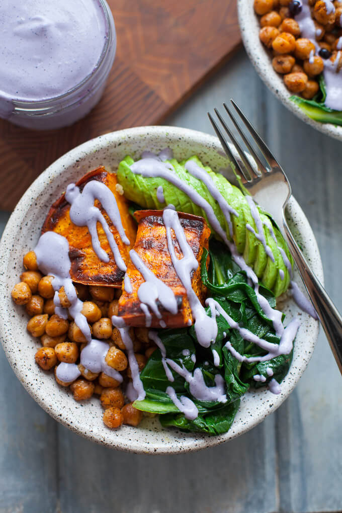 Wild Blueberry Buddha Bowl Picture