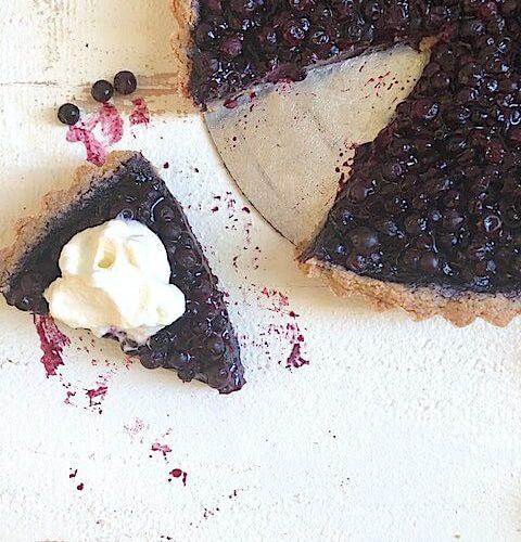 Wild Blueberry Tart with Foolproof, Gluten-Free Crust