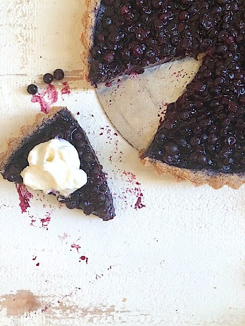 Wild Blueberry Tart with Foolproof, Gluten-Free Crust Picture