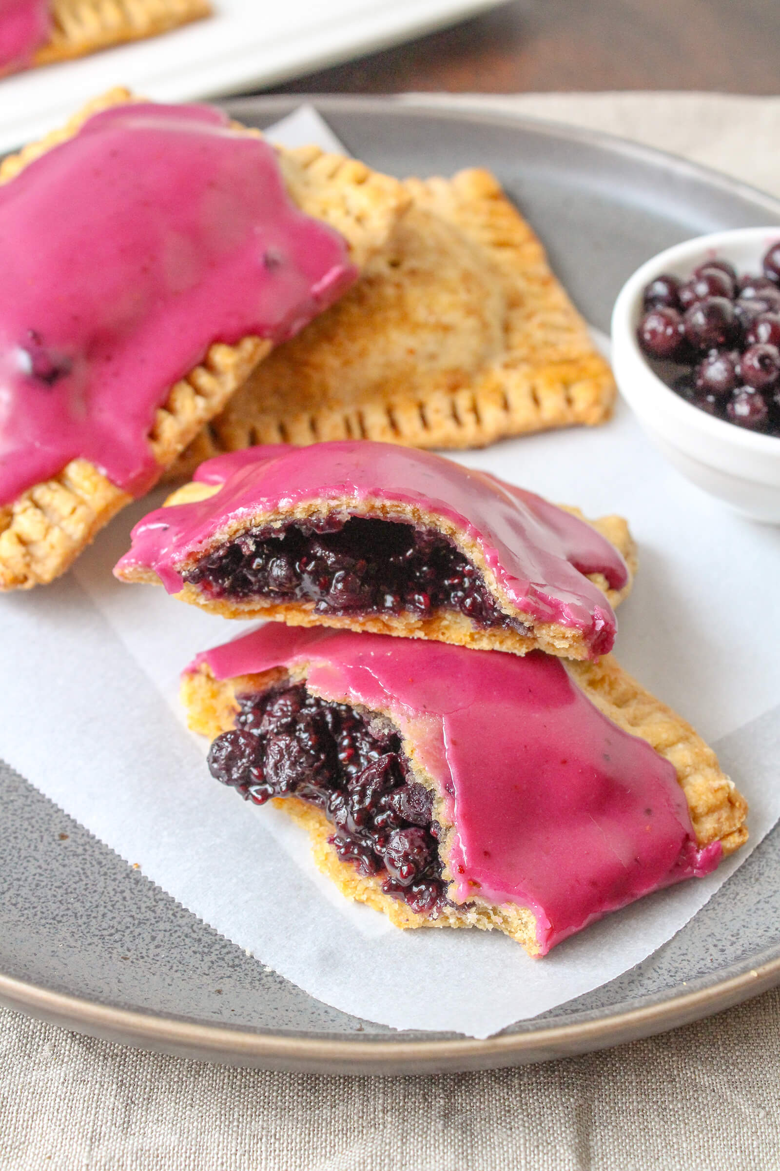 Wild Blueberry (Toaster or Pop) Tarts Picture