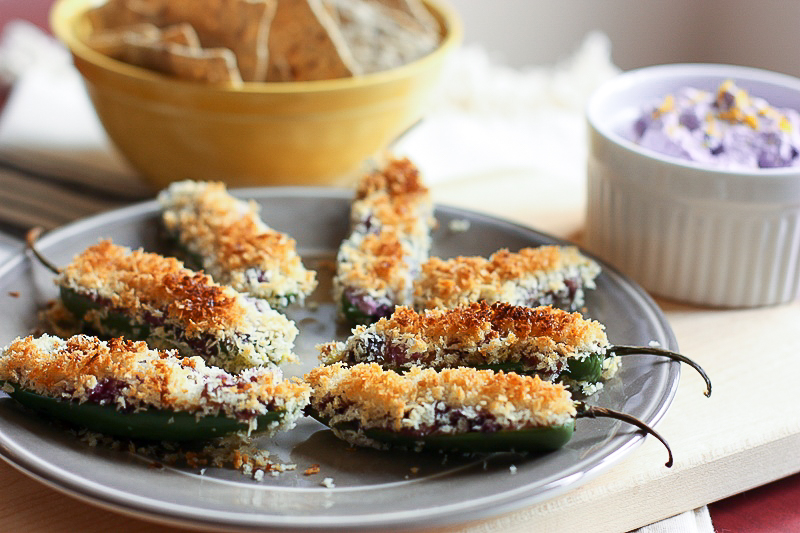 Wild Blueberry Jalapeno Poppers Picture