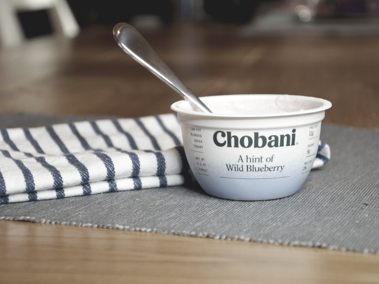 Chobani wild blueberry